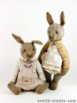 «Easter bunnies» set