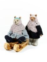 Мишки Оля и Коля