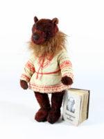 Teddy bear Lev Tolstoy